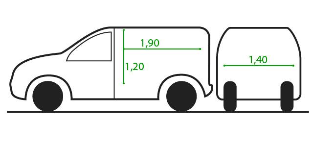 Alquiler furgoneta cordoba 4 5m3 for Furgonetas en cordoba